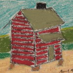Shack with Crops