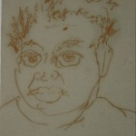Self Portrait Before Lunch, 2003