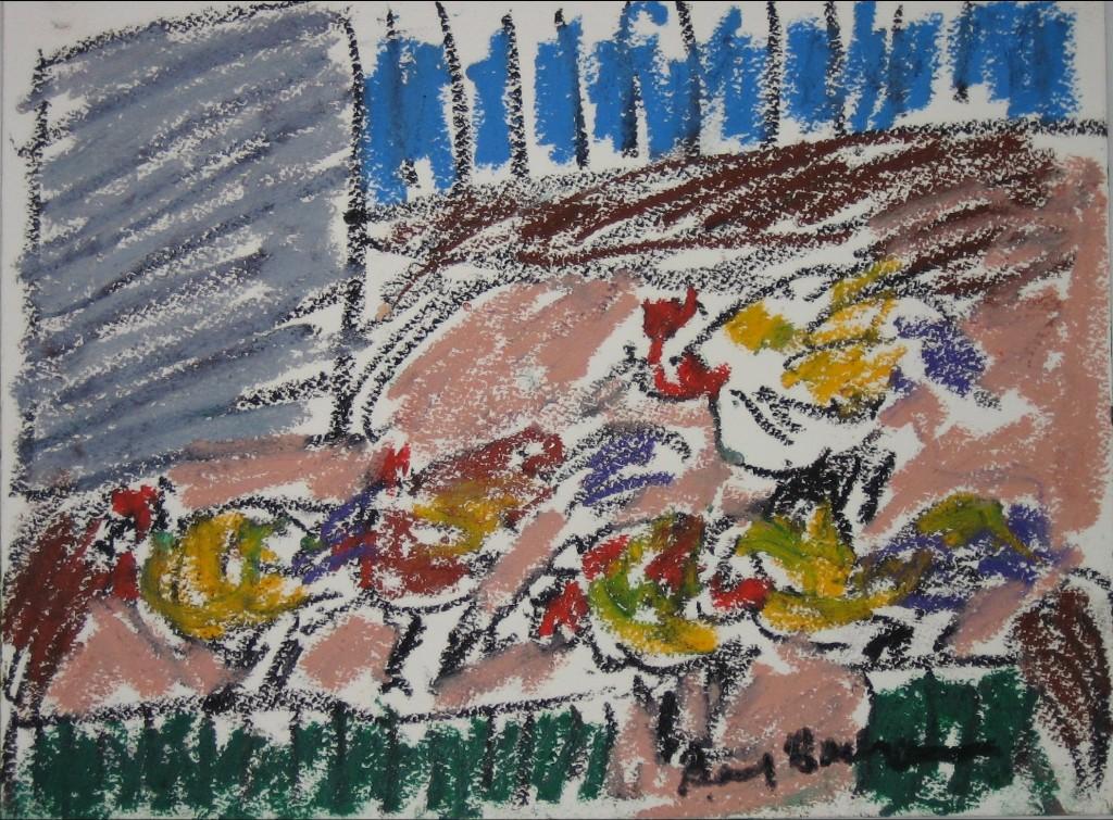 Yard Chickens